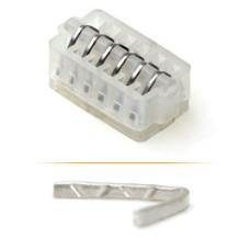 Клипсы хирургические титановые для лапароскопических операций в стерильной упаковке средне-большие