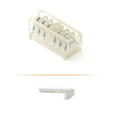 Клипсы хирургические титановые для лапароскопических операций в стерильной упаковке средние